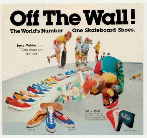 VANS HISTORY   Chaussures vans, Mode homme, Comme un camion