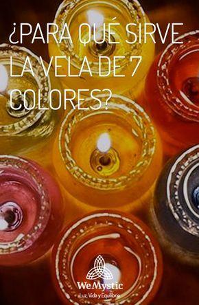 Vela De 7 Colores Para Qué Sirve Y Cómo Realizar Un Ritual Wemystic Rituales Con Velas Significado De Las Velas Magia Con Velas