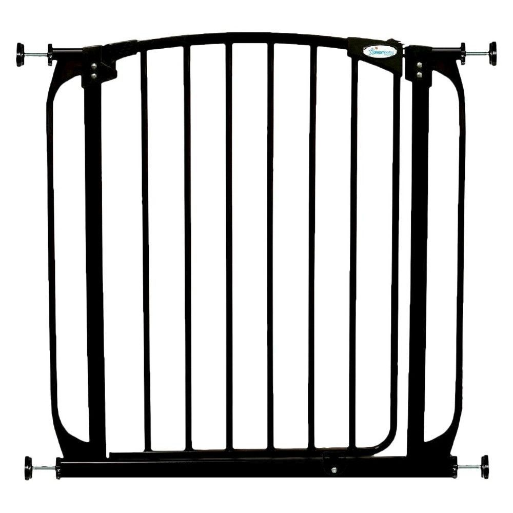 Dreambaby chelsea autoclose baby gate black baby safety