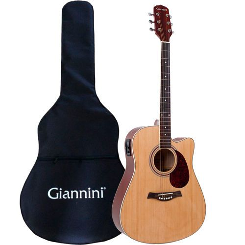 99 99 Through 12 18 Giannini Dg 41 Ceq 41 Dreadnought Cutaway Acoustic Electric Guitar Bundle Acoustic Electric Guitar Acoustic Electric Guitar