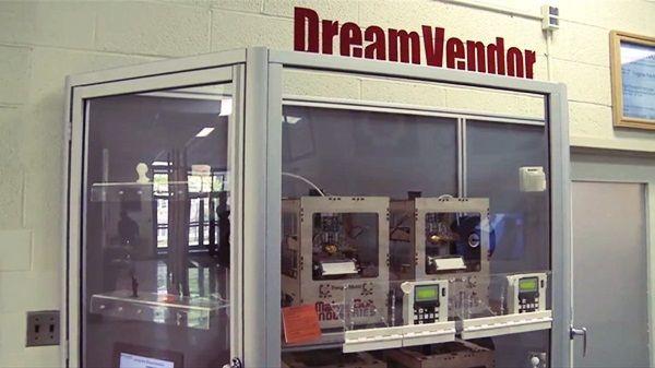 Dreamvendor Vending Machine To Print 3d Design 3d Printing Business 3d Printing Machine 3d Printer Designs