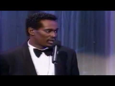 Luther Vandross A House Is Not A Home Live 1988 Naacp Image Awards Luther Vandross Soul Music Luther Vandross So Amazing