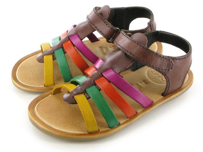 Zapatos multicolor de verano infantiles Ii3mJnW