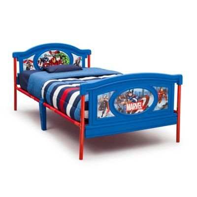 Best Delta Children Marvel Avengers Twin Bed Avengers Bedroom 640 x 480