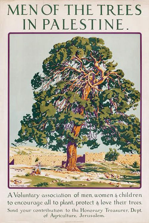 1931 Men Of The Trees In Palestine The Palestine Poster Project Archives Palestine Palestine Art Palestine History