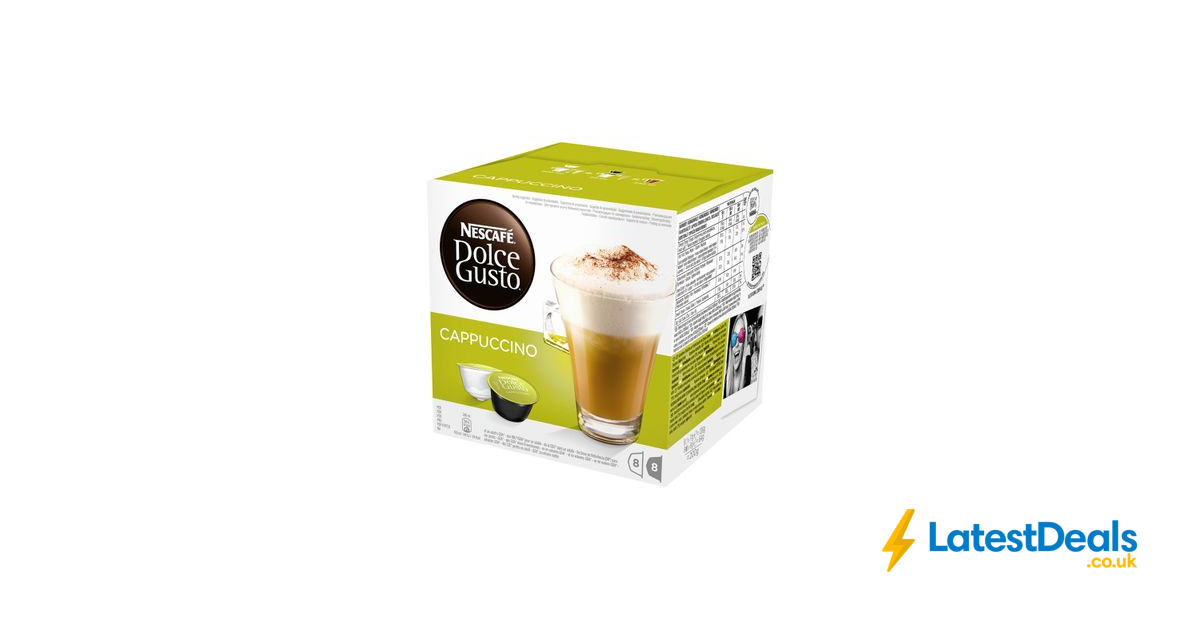 Nescafe Dolce Gusto Coffee Pods £4 Each or 3 for £10 at