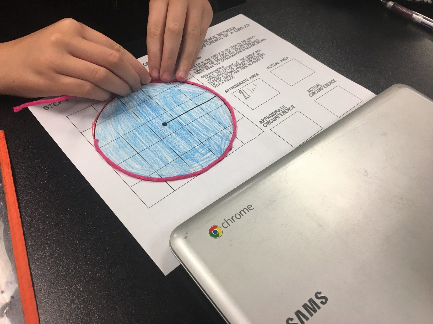 Teaching Area And Circumference Of Circles Through