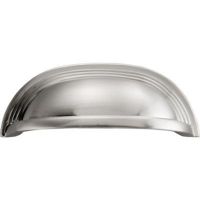 Hickory Hardware Deco 96 mm Satin Nickel Cup Pull | Para el hogar ...