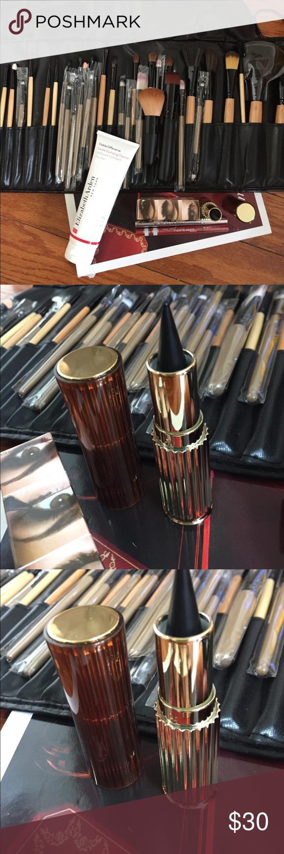 40 pieces brush set/ elizabeth arden/kajal🌺 Vegan makeup