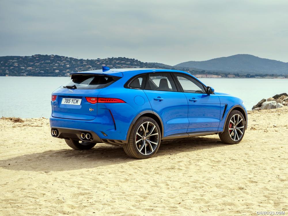 2019 Jaguar F Pace Svr Jaguar Blue Jaguar Daimler