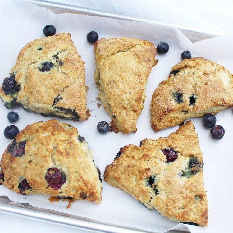 Blueberry superfood scone recipe scones ingredients