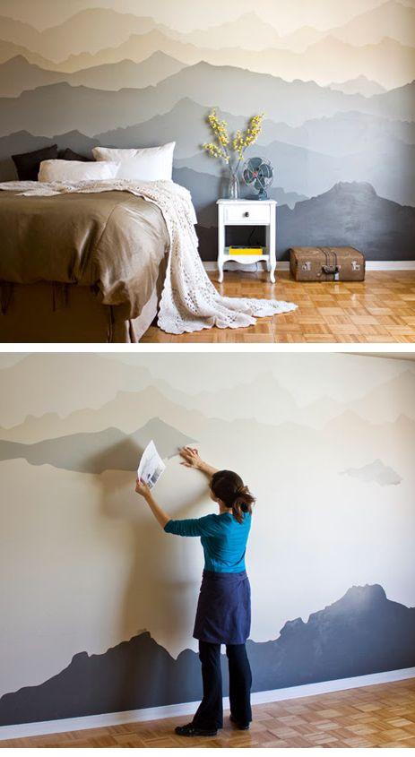 Imagenes Que Dan Profundidad Buscar Con Google Bedroom Makeover Bedroom Murals Bedroom Diy