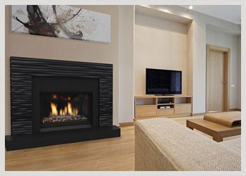 Pin By Liann Ho On Home Design Gas Fireplace Fireplace Surrounds Wood Fireplace Surrounds
