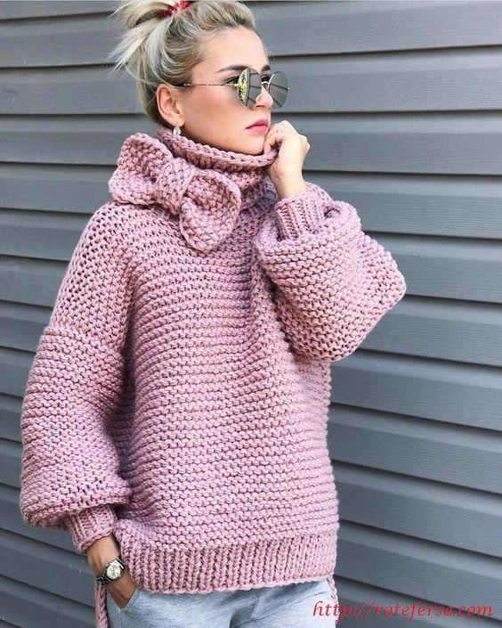 Photo of Top trend sweater models for 2020 winter – Rote Ferse #damen #damenmode #mode #p…