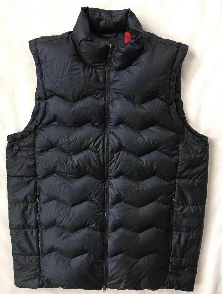 best loved fcec2 659e5 NIKE AIR JORDAN Mens Flight Hyperply Down Vest SIZE XLT Black 682805 010  NEW  NikeAirJordan  Vest