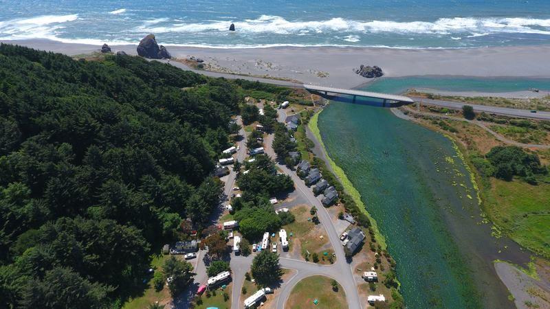Turtle Rock Rv Resort 28788 Hunter Creek Loop Gold Beach Or 97444 541 247 9203 Gold Beach Turtle Rock Oregon Camping