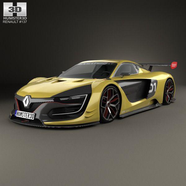 Renault Sport: 3D Model Of Renault Sport R.S. 01 2015