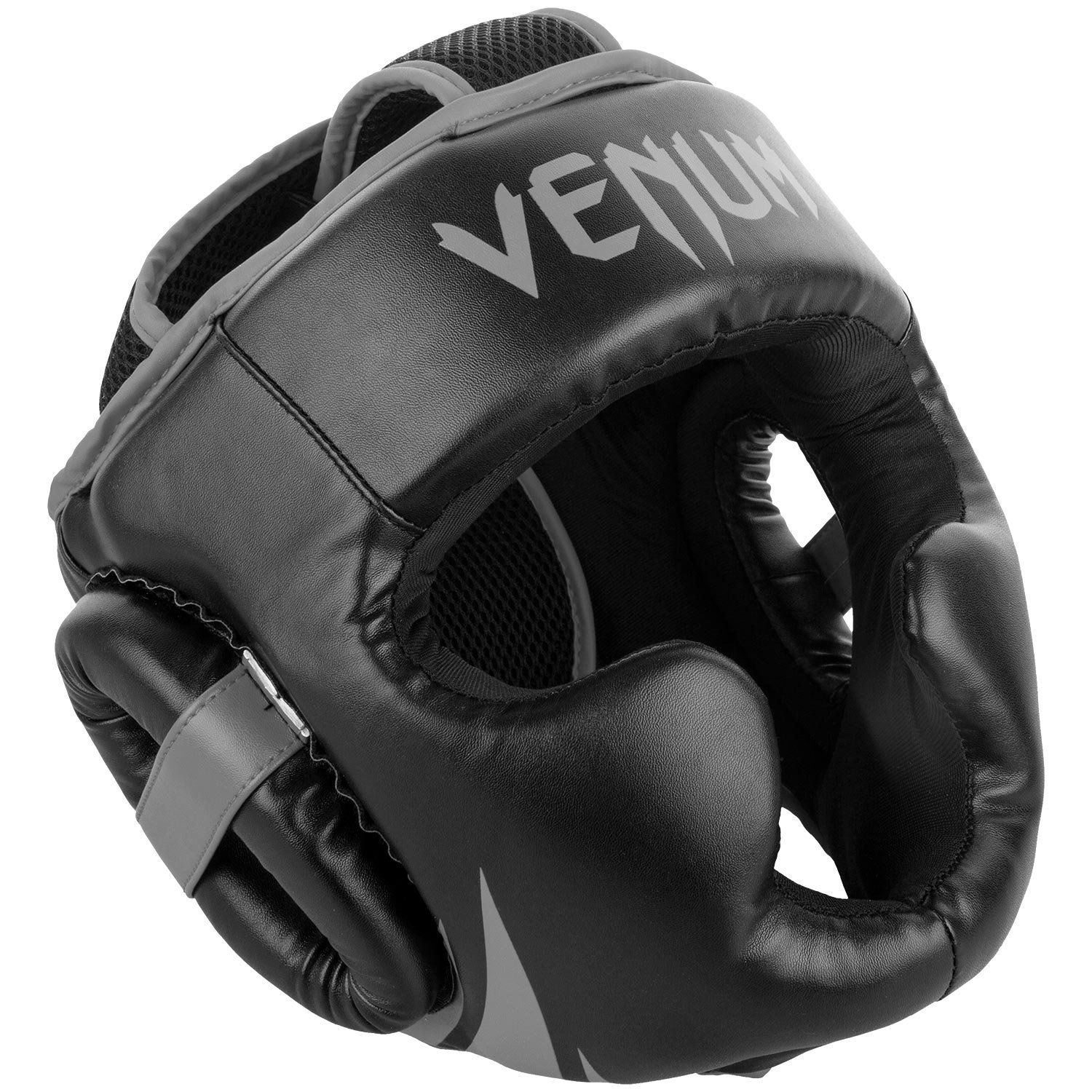 Venum Challenger 2 0 Headgear Black Grey Continue To The Item At The Picture Link This Is An Affiliate Link Boxi Mma Headgear Headgear Black And Grey