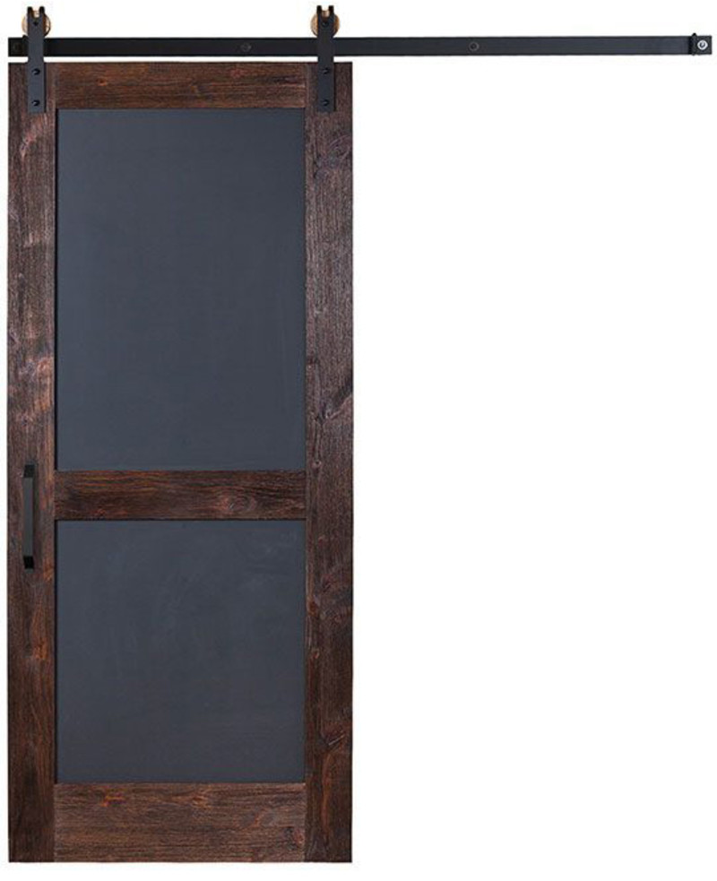 A Chalkboard Door For Adults And Children Alike Add It To The Pantry Kitchen Or Entry With A Calend Barn Doors Sliding Interior Sliding Barn Doors Barn Door