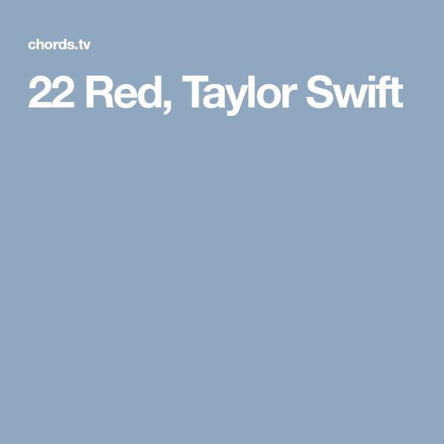 22 Red, Taylor Swift | [GuItAr] | Pinterest | Taylor swift, Swift ...