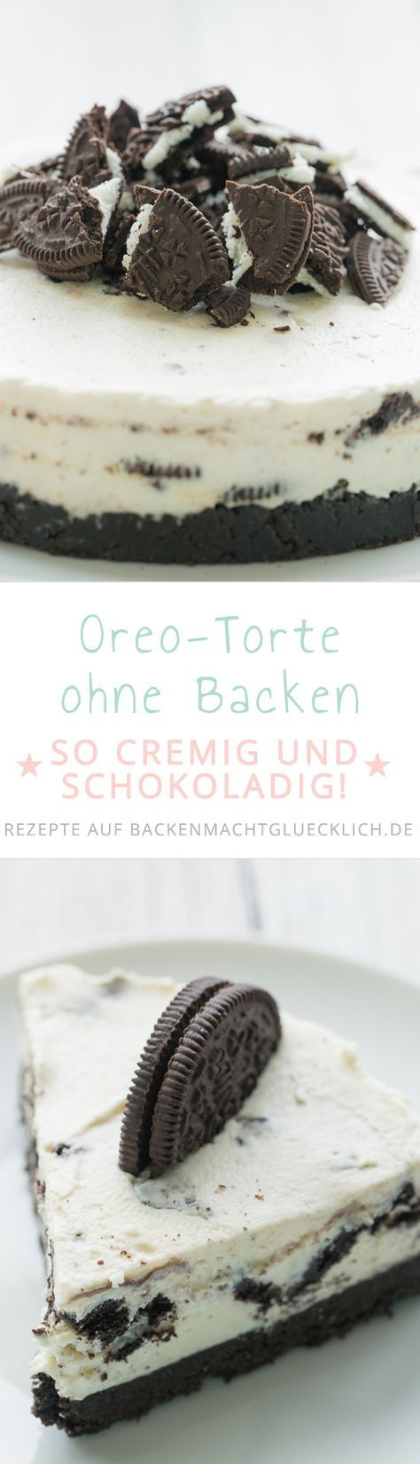 oreo torte ohne backen rezept kuchen pinterest backen kuchen und oreo torte ohne backen. Black Bedroom Furniture Sets. Home Design Ideas
