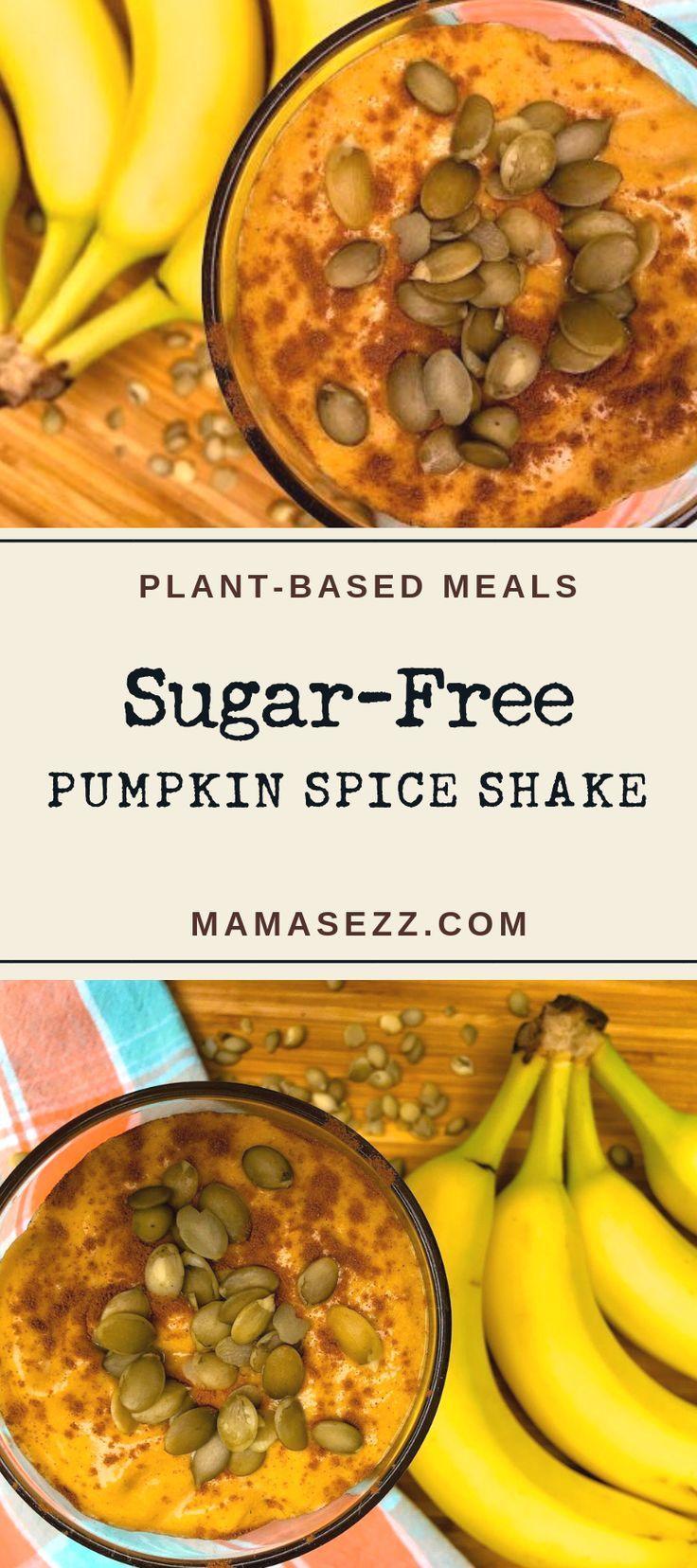 Refined Sugar Free Pumpkin Spice Shake