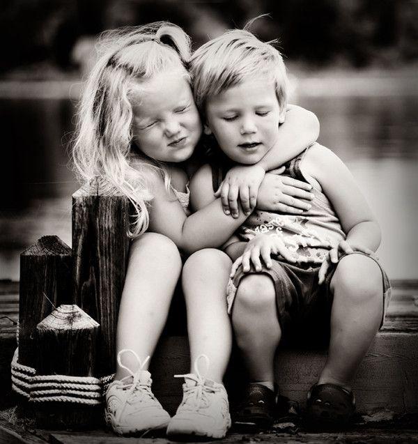 Enfants en noir et blanc fotos Pinterest Photography