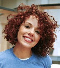 Natural Curly Hairstyles For White Women Google Search