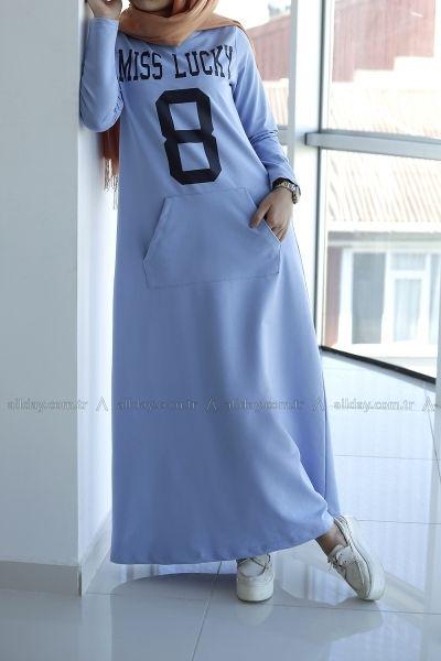 Allday Bebe Mavisi Elbise 044 1107 Modelini Incelemek Icin Lutfen Sayfamizi Ziyaret Ediniz Islami Moda Mutevazi Moda Spor Giyim