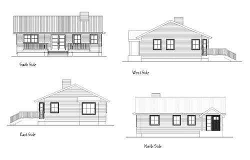 How To Draw Elevations From Floor Plans Elevation Drawing House Elevation House Plans