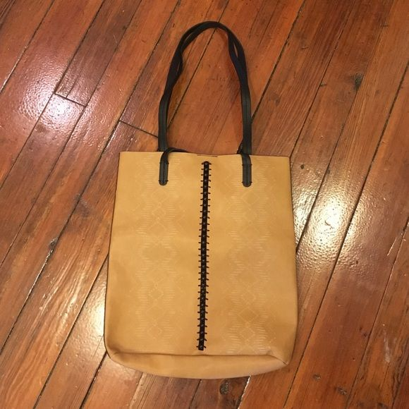 fc77534b9 Free people vegan leather tote NWT This tote is really cute! I happen to  have two and I use mine all the time! The one pictured above is new and  still has ...