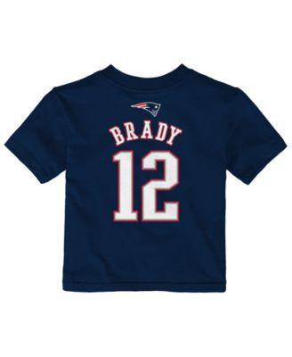 Outerstuff Tom Brady New England Patriots Mainliner Player T-Shirt ...