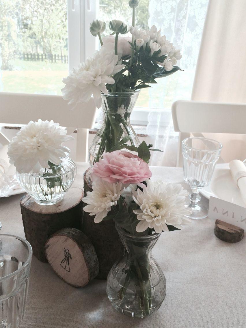 blumen holz hochzeit vintage vintage hochzeit deko holz rustikal romantisch pinterest deko. Black Bedroom Furniture Sets. Home Design Ideas
