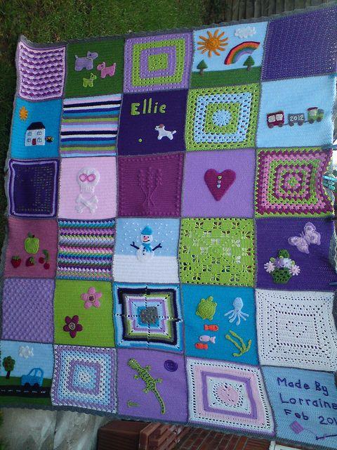 patchwork blanket 2 h keln decken kissen crochet afghan pillows h keln stricken und. Black Bedroom Furniture Sets. Home Design Ideas