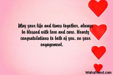 May your life and times together, always be blessed with
