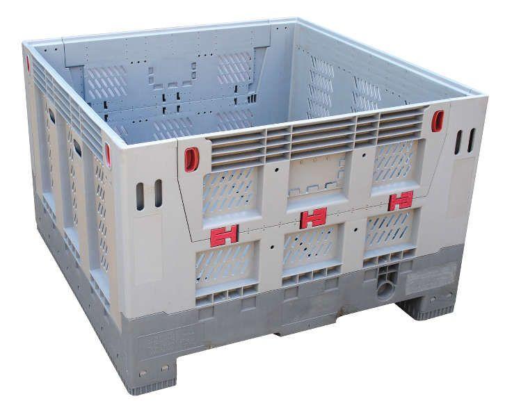 Vestil Collapsible Bulk Storage Container Model No CBC 4048 M