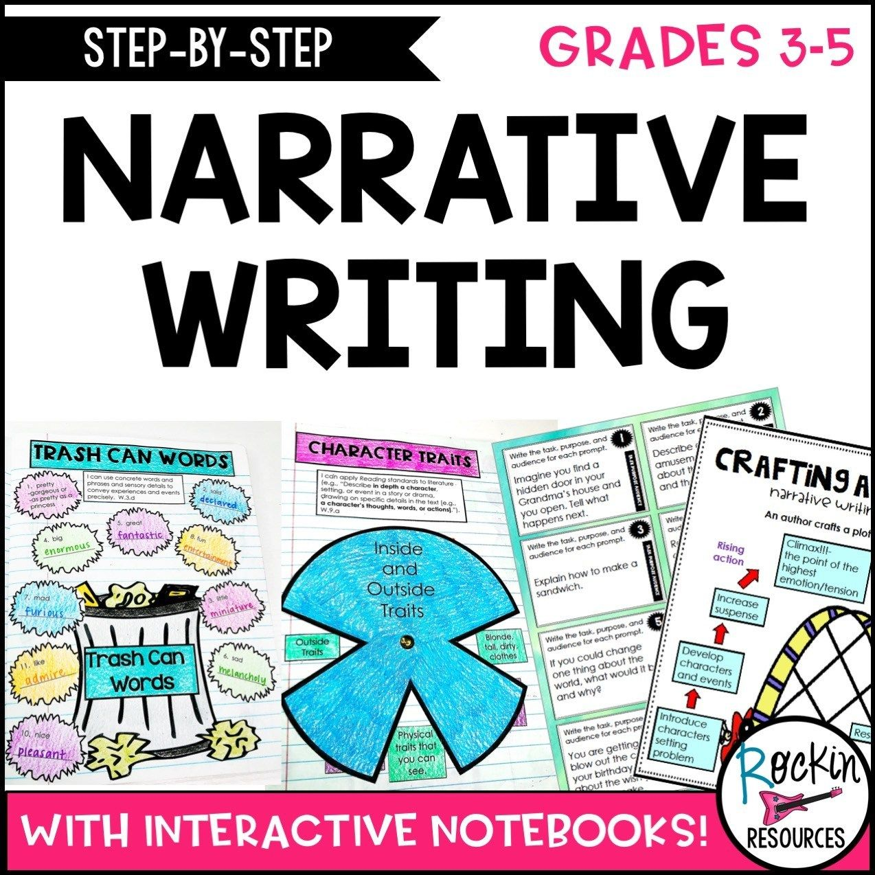 Step By Step Narrative Writing