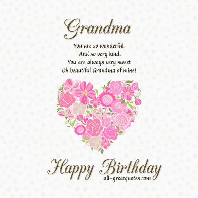 Happy Birthday Grandma Quotes Grandmother Birthday Quotes. QuotesGram via Relatably. Happy Birthday Grandma Quotes