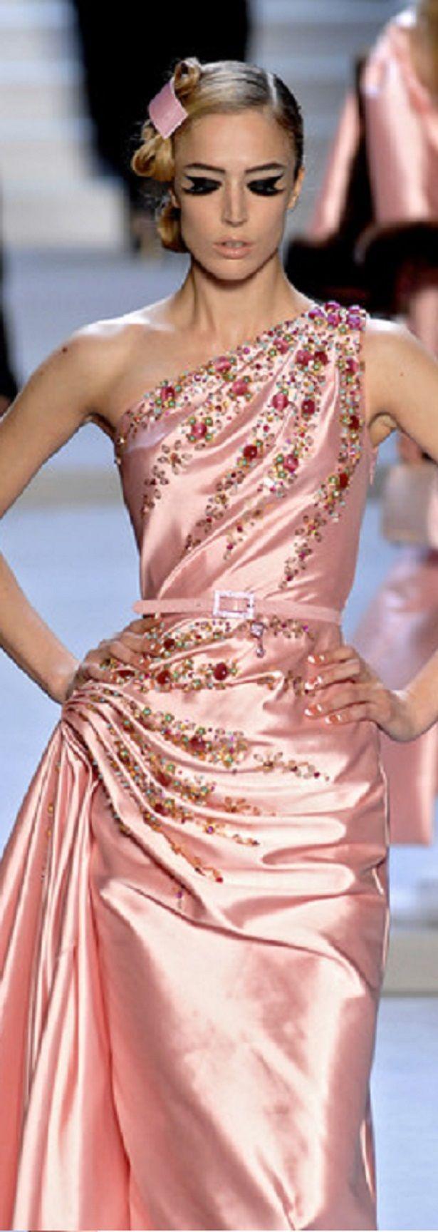 Christian Dior by John Galliano | Fashion | Pinterest | Vestidos de ...