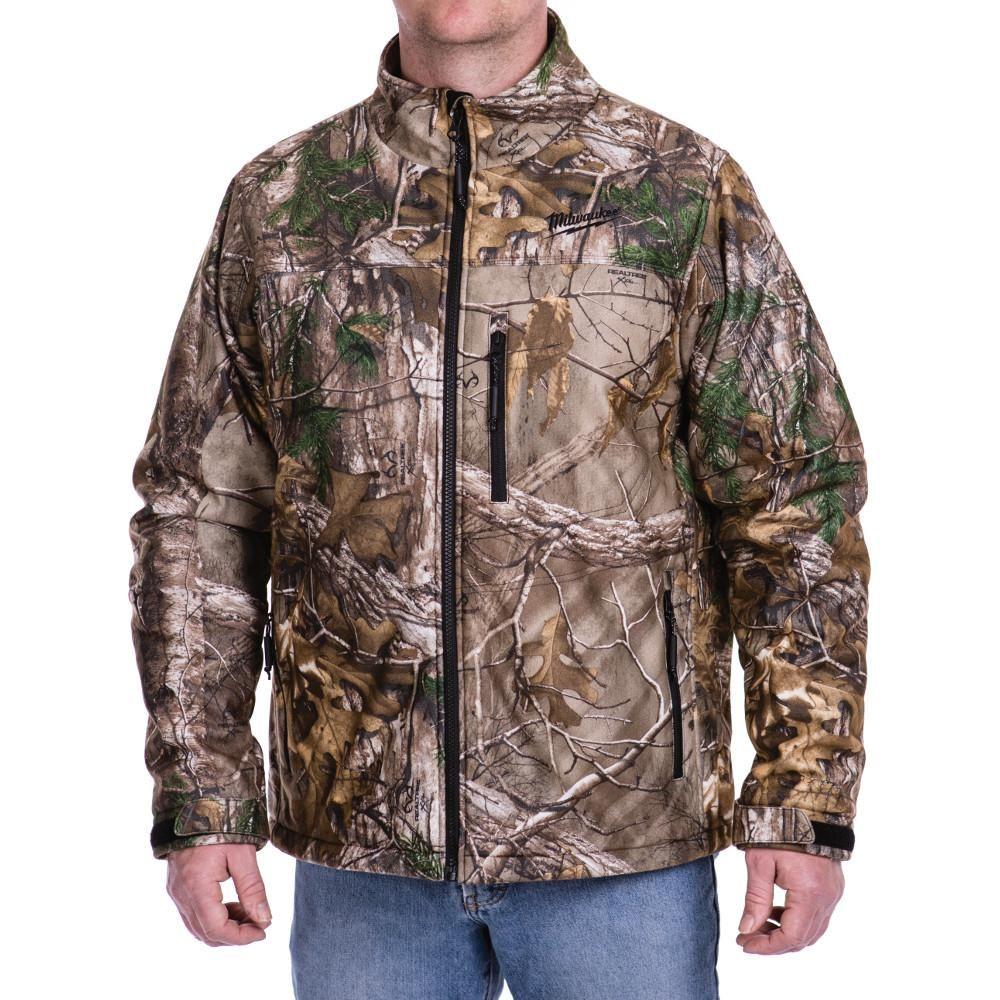 Milwaukee Extra Large M12 12 Volt Lithium Ion Cordless Realtree Xtra Heated Jacket Kit Size Xl Green Heated Jacket