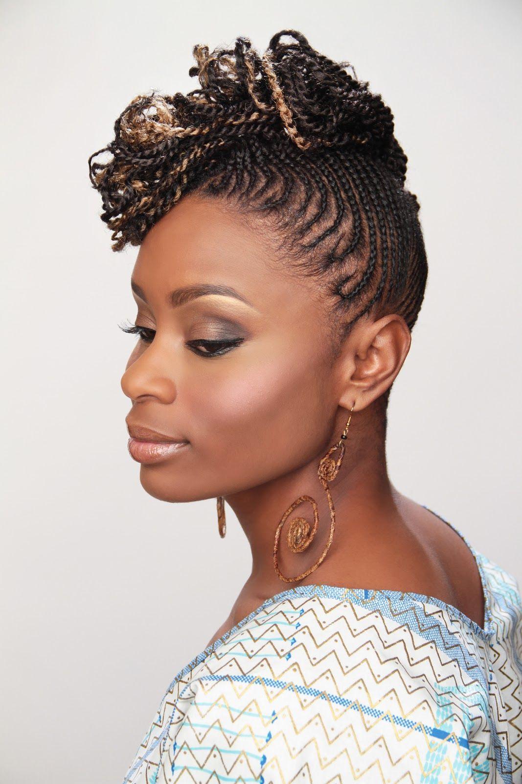 natural hairstyles | Holidays Natural hair style by Mahogany Hair Revolution/ estilo con el ...