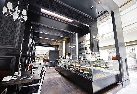 Bloomsbury coffee shop interior design by carbon 8
