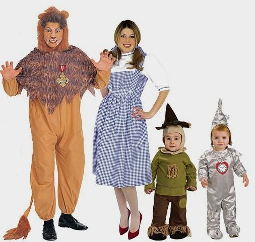 Wizard of Oz Group Halloween Costume Collection   fave - good halloween costumes ideas