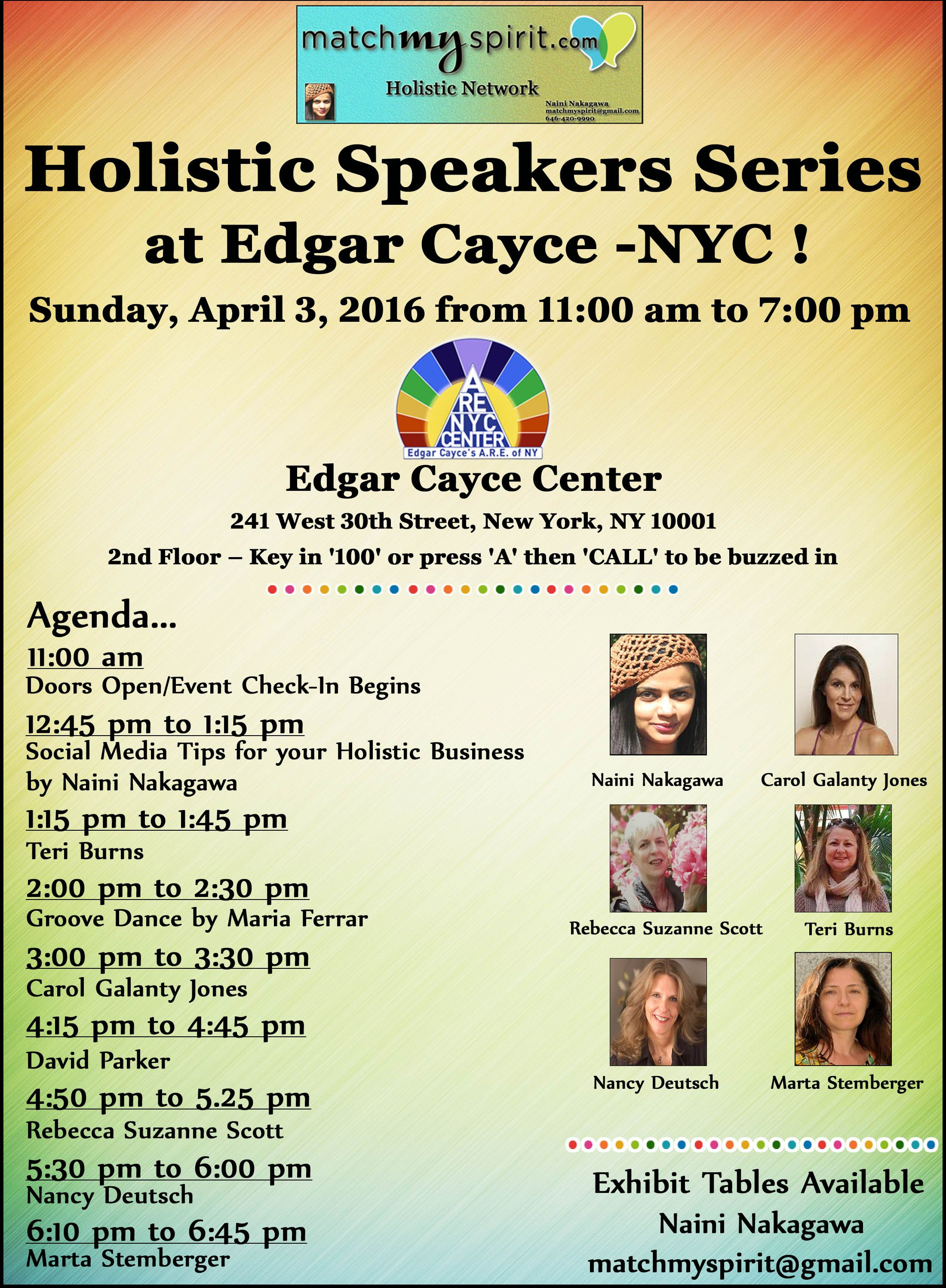 Pin by Free NYC Health & Wellness Holistic Events