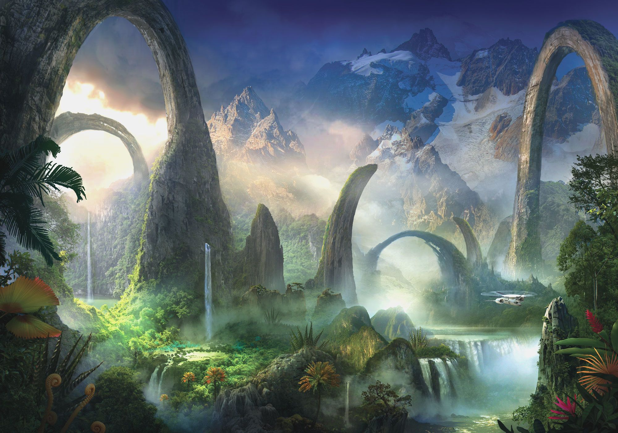 fantasy art landscapes water - Google Search | FantasyScapes ... for Fantasy Water Landscape  177nar