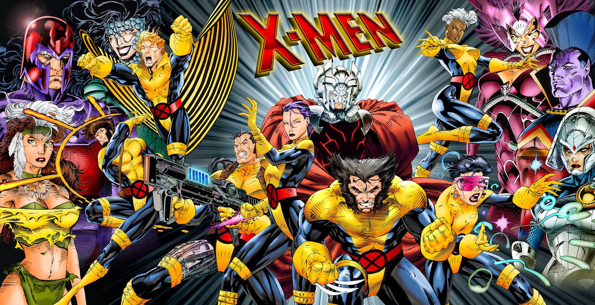 X Men Wallpaper High Definition Heu Jim Lee Art Comic Art Comics