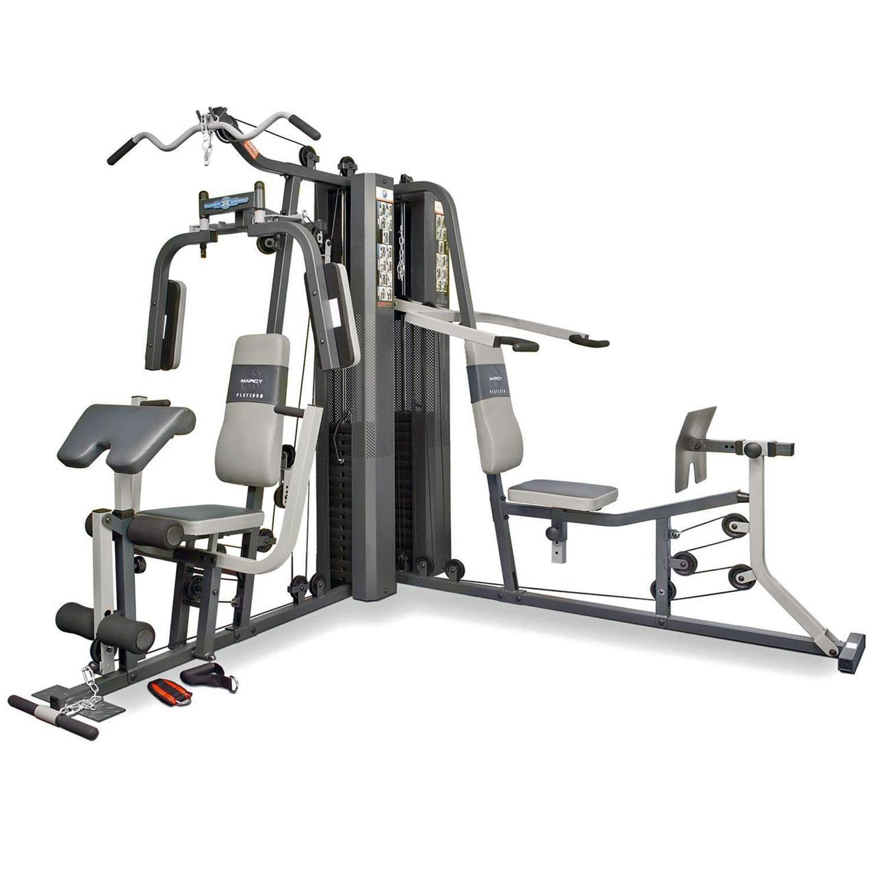 Marcy gs99 dual stack home multi gym multi gym and gym for Home designs by marcy