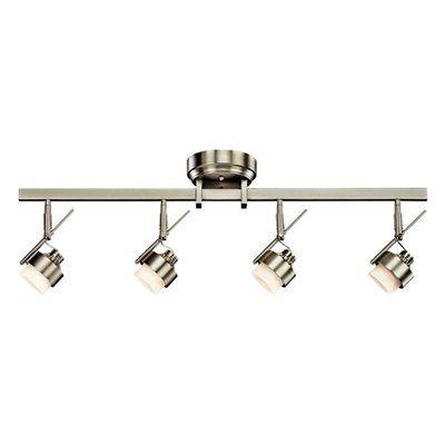 Kichler Lighting 10326ni 4 Light Fixed Rail Led Directional Spot