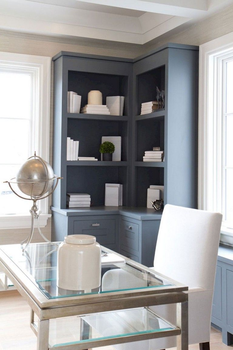 70+ Awesome Contemporary Home Office Ideas | Corner ...