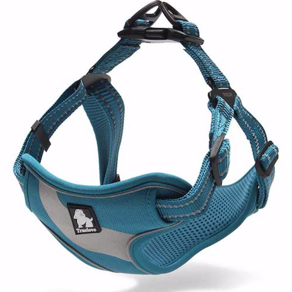 Dog harness nopull adjustable soft padded with